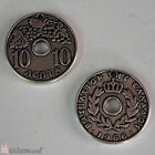 Antique Silverplated Metal Greek Coins Copies, 10 Lepta, Dekara Coins in 3 Sizes