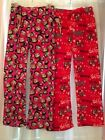 NEW Betty Boop Sleep Lounge Pants Fleece Plush Soft NWT Small S Red Pink Choice