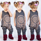 Kids Toddler Baby Girls Outfits Playsuit Jumpsuit Romper Outfit Summer Clothes *