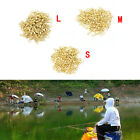 100X Fishing Barrel Bearing Rolling Swivel Solid Ring LB Lures Connector 3Size H