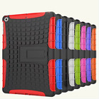 For NEW 2017 iPad 5th Gen A1822 Heavy Duty Armor Hybrid Hard Case Cover