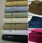 Twin-XL Size Extra Deep Pocket 1 pc Fitted Sheet 1000 TC Egyptian-Cotton