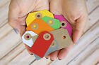Colour Luggage TAGS 20pc wishing tree wedding favour card making gift wrap tags