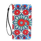 For Samsung Galaxy Note 2 Leather Wallet Flip Case Credit Card Cover Mandala
