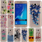 Pattern Clear Soft Silicone TPU Rubber Gel Back Case Cover For Samsung Galaxy