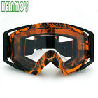 2017 Motocross Motorcycle ATV Dirt Bike Off Road Adult Goggle Eyewear For Yamaha