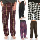 "TINFL Plaid Check Soft Flannel Lounge Mens WARM Long Pyjama Pants ""PM 5st"" S-XL"