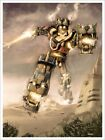 Voltron and Steampunk Voltron Interpretive Artwork Fine Art Lithograph Prints