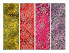 Imitation/faux Indian silk brocade shimmer floral dressmaking fabric 1.18m wide
