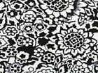 Fashionable knit dress fabric, stretch viscose/rayon jersey, flowers, knitwear