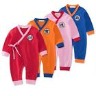 Baby Toddler Boy Girl Chinese Costume Long Suits Romper Outfit Clothes 3M-3Yrs