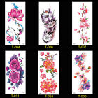 Tattoo Sticker Waterproof Temporary Tattoo 3D Flowers Blossom Body Arm Art Fake $0.92 USD on eBay