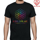coldplay t shirt - New Coldplay *A Head Full Of Dreams Rock Band Men's Black T-Shirt Size S to 3XL