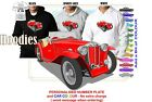 44-50 MG TC SPORTS HOODIE ILLUSTRATED CLASSIC RETRO MUSCLE SPORTS CAR