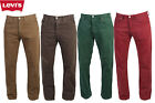 Vintage Levis 501 Coloured Regular Straight Fit Jeans Denim Various Size W28-W44