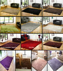 SMALL- EXTRA LARGE X THICK 6cm DENSE LUXURY SOFT PILE SHAGGY LUXURIOUS SHINY RUG