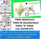 Pressure Relief Device (PRD)  82800450 REPAIR KITS FITS ALL TRITON SHOWERS