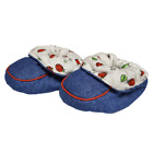 Swaddlers Baby Slippers with elastic ankle and rubber grip outsole