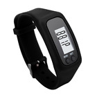 Mini Digital LCD Pedometer Activity Tracker Wristband Walking Calorie Counter