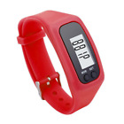 Digital LCD Pedometer Activity Tracker Wristband Walking Calorie Counter Watch