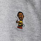 ODB Wu-Tang Clan Embroidered Heather Grey Tee T-Shirt by Actual Fact