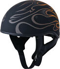 NEW FLY 357 Half Helmet Flames MOTORCYCLE CRUISER HARLEY INDIAN  <br/> FREE FAST SHIPPING ALL SIZES ALL COLORS