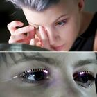 A Pair LED Eyelashe Eyelid False Eyelashes For Icon Saloon Pub Club Bar Party DS