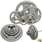 Tri Grip Olympic Weight Plates Disc Cast Iron Olympic Fitness Gym Training Sets