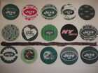 New York Jets mix  buttons flat backs or pin badges cabochons embellish magnets $5.5 USD on eBay