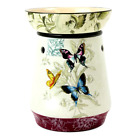 Candle Warmer Butterfly Design Tall Warms Scented Wax With A 25 Watt Light Bulb