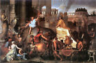 Classic Baroque History print: Entry of Alexander into Babylon by LeBrun