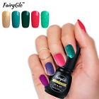 FairyGlo 194 Color Gel Polish SoakOff UV LED Top Base Coat N