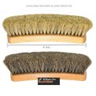 8 in. Professional Shoe Shine Brush. Buffing Shoe Brushes100% Horsehair. 2 Color