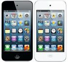 Apple Ipod Touch 4th Generation Black & White *great Condition*