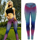 Womens YOGA Gym Fitness Leggings Running Sports Workout Stratch Pants Trousers