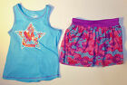 Puma Toddler Girls 2pc Tank Top and Skort Set Blue/Purple Size 4T NWT