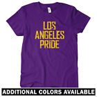 Los Angeles Pride Women's T-shirt S-2X - LA Dodgers Lakers Rams Clippers Charger $24.99 USD on eBay