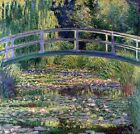 Water Lilies and the Japanes Bridge Painting by Claude Monet Art Reproduction