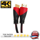 High Speed HDMI Cable for Ultra-4K TV PS4 Bluray Gold with Ethernet Audio 1080P