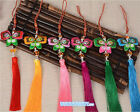 6 colors Fragrant Embroidery Butterfly Traditional Chinese Knot Home Decor Gift