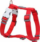 Red Dingo Plain RED Harness for Dog or Puppy | Sizes XS - LG | FREE P&P
