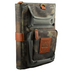 Bible Book Organizer Handy TriFold Realtree Camo with Way Truth Life Badge Large