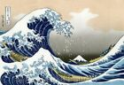 The Great Wave of Kanagawa Repro Quilt Block Multi Szs FrEE ShiP WoRld WiDE