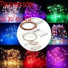 20/30/40 LED String Fairy Lights Battery Operated Xmas Party Room Decor