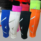 1Pair Calf Support Graduated Compression Leg Sleeve Sports Socks Exercise Colors