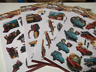 Amy Design Vintage Vehicles A4 3D Die Cut Decoupage Sheet Mens Various Designs