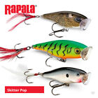 Rapala Skitter Pop Lures - Pike Bass Chub Predator Surface Popper Fishing Tackle