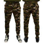 Streetwear Camouflage Army Green Slim Fit Joggers Sweatpants
