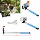 Selfie Stick Bluetooth remote Self Portrait Pole for iPhone Samsung  Universal