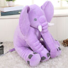 HOT Large Baby Long Nose Elephant Doll Plush Stuff Toys Kids Lumbar Sleep Pillow